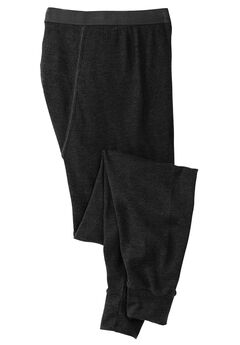 Heavyweight Thermal Pants with Moisture Wicking, BLACK, hi-res