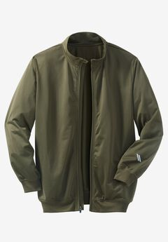 Track Jacket by KS Sport™, OLIVE