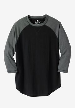 Crewneck Raglan Tee by Liberty Blues®,