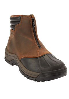 Propét® Zip Hiking Boots, BROWN BLACK, hi-res