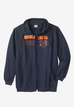 NFL® Full Zip Hoodie, BEARS