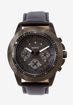 Leather Strap Watch,