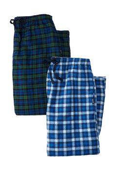 Hanes® 2pk Flannel PJ Pants,