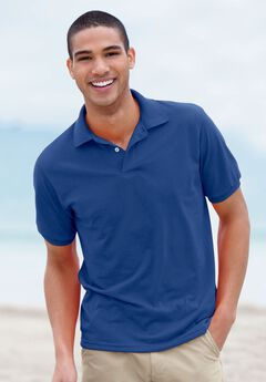Hanes® ComfortBlend® EcoSmart® Jersey Polo Shirt,