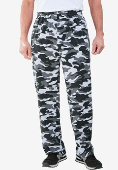 Lightweight Open-Bottom Sweats,