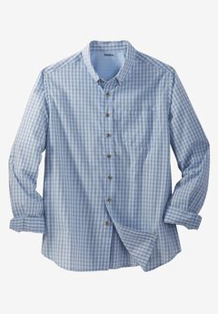Shrink-Less™ Long Sleeve Sport Shirt,
