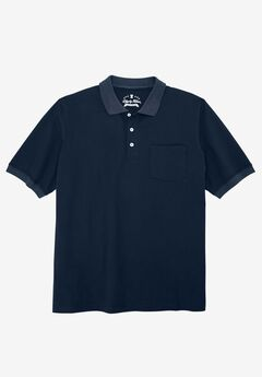 Classic Fit Stretch Polo by Liberty Blues®, NAVY