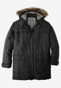 Arctic Snorkel Coat, BLACK, hi-res