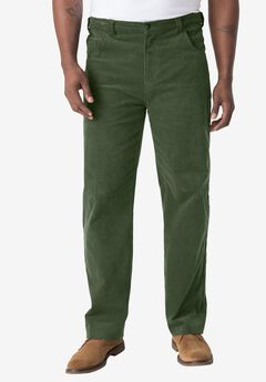 5-Pocket Invisible Stretch Corduroy Pants by Liberty Blues®,