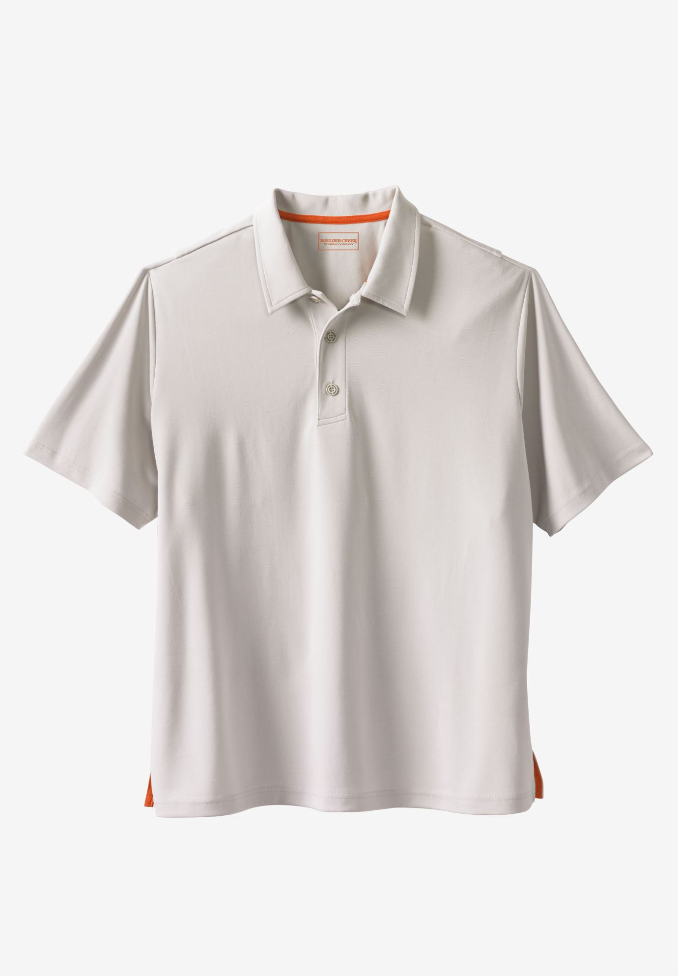 Offshore Polo Shirt by Boulder Creek®, STONE