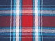 Hanes® 2-Pack Woven Sleep Shorts, BLUE RED PLAID, swatch