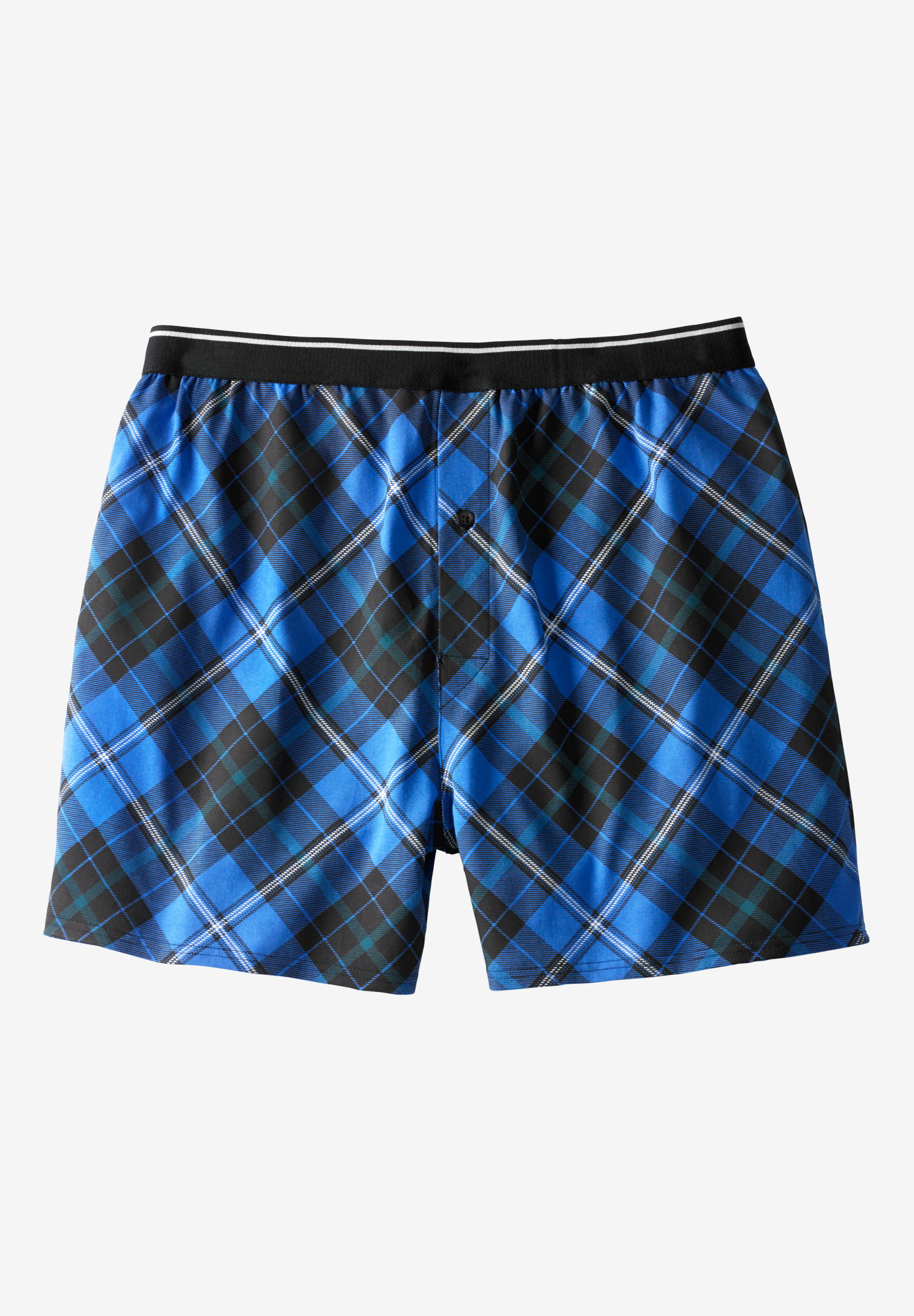 Patterned Boxers, PLAID