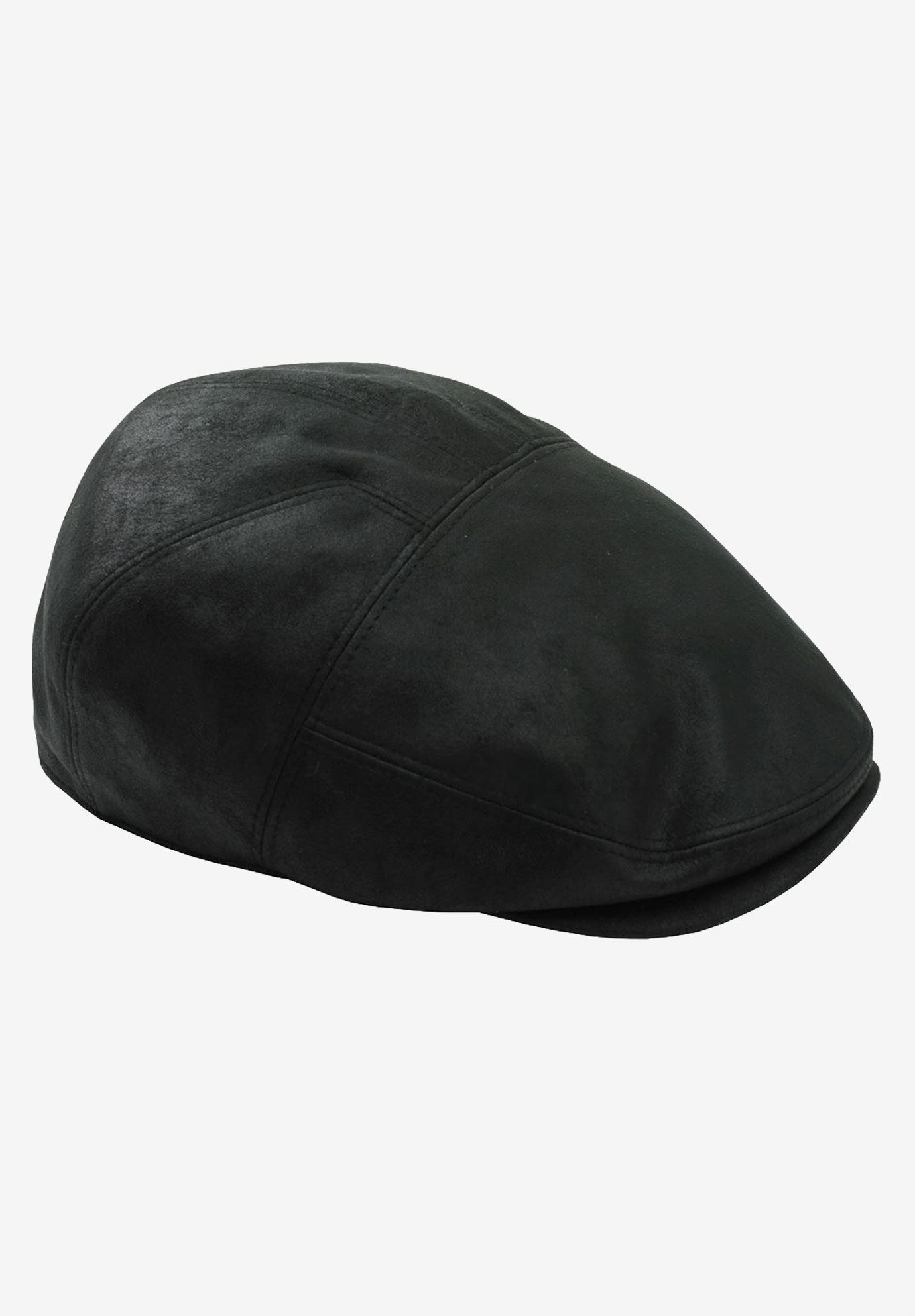 Ivy Cap in Faux Leather,