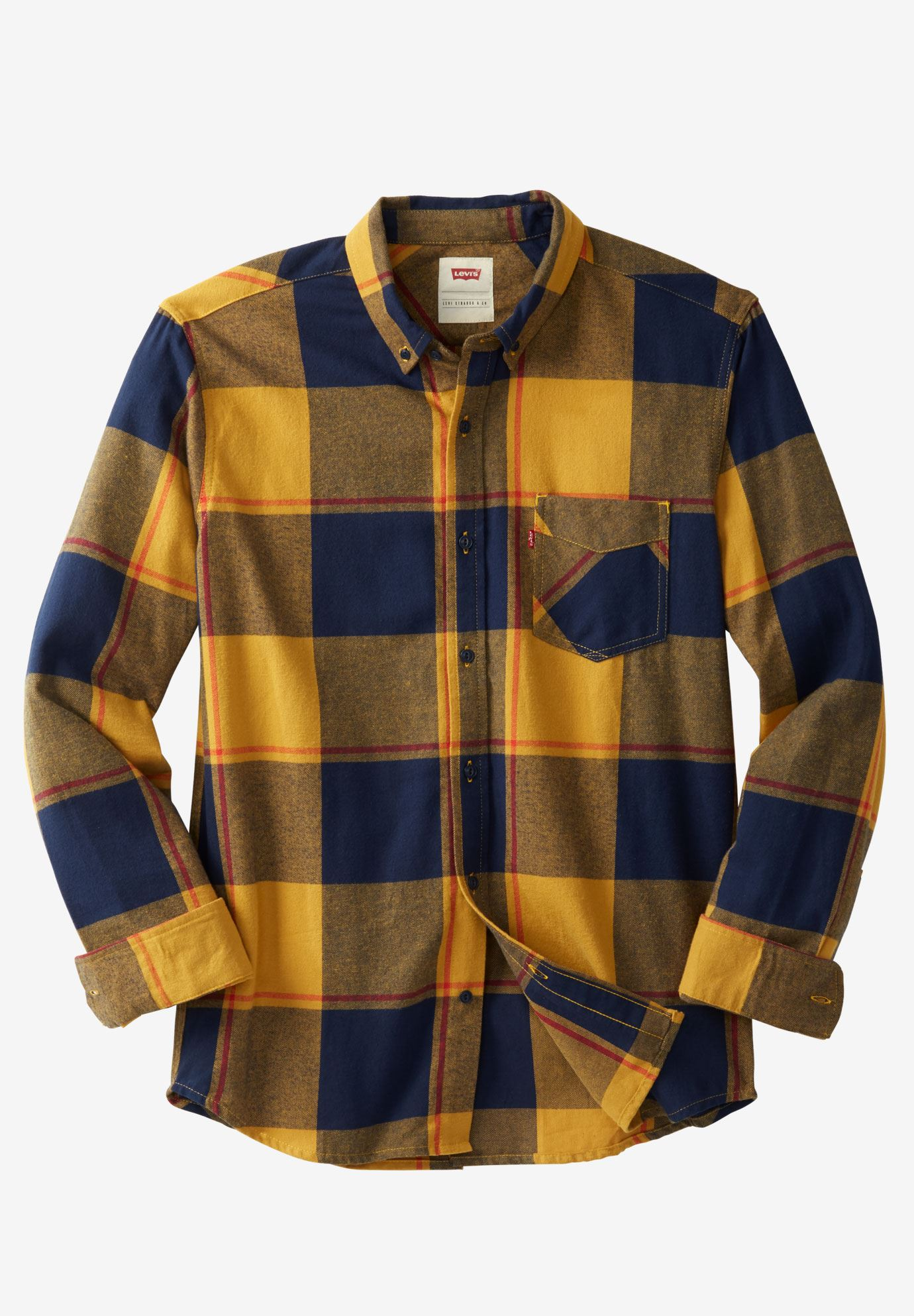 Dortmund Twill Flannel Shirt by Levis®,