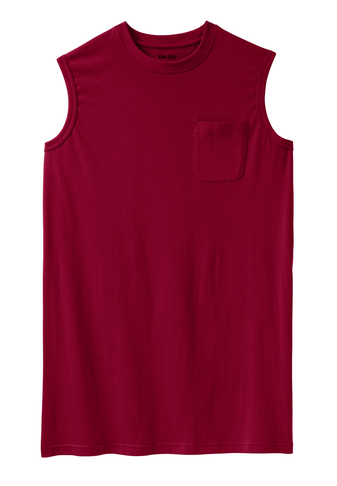 Longer-Length Lightweight Muscle Tee,