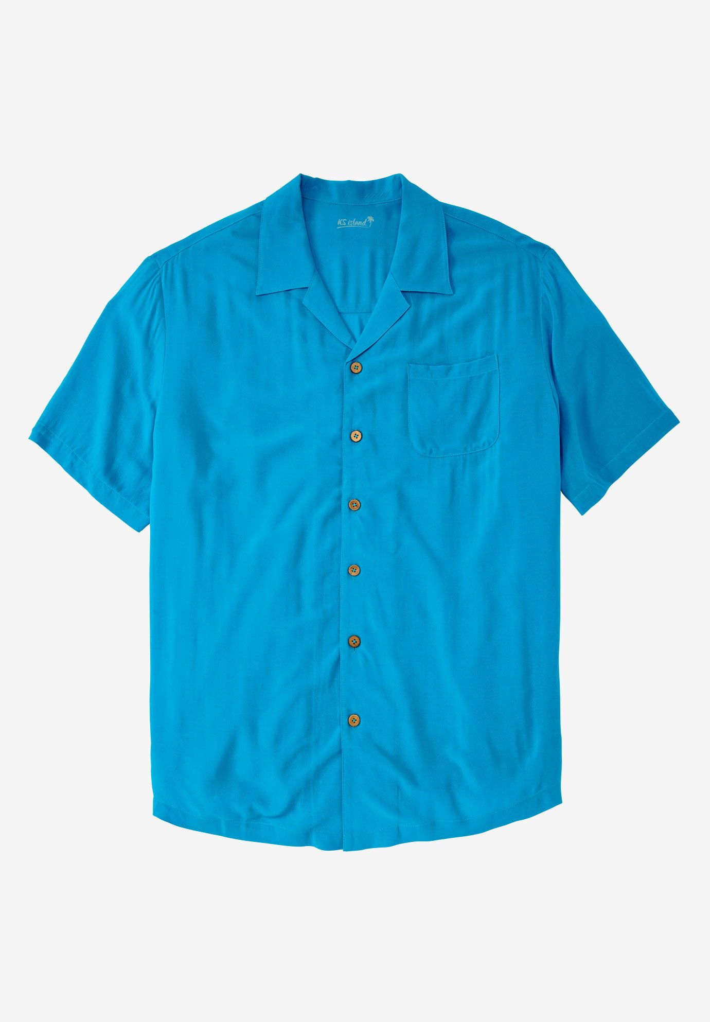 Solid Tropical Shirt by KS Island™,
