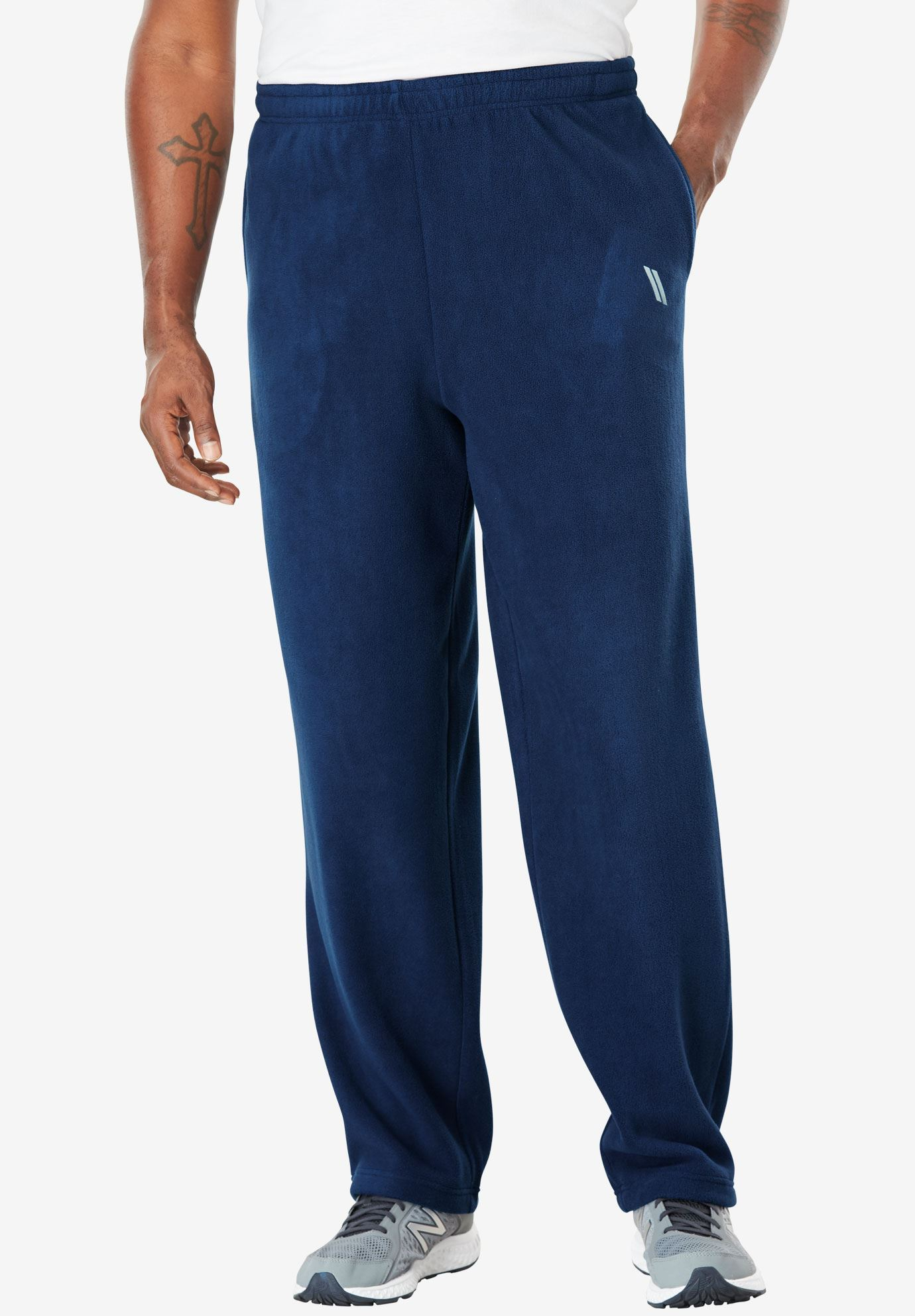 Open Bottom Fleece Tech Pants by KS Sport™,