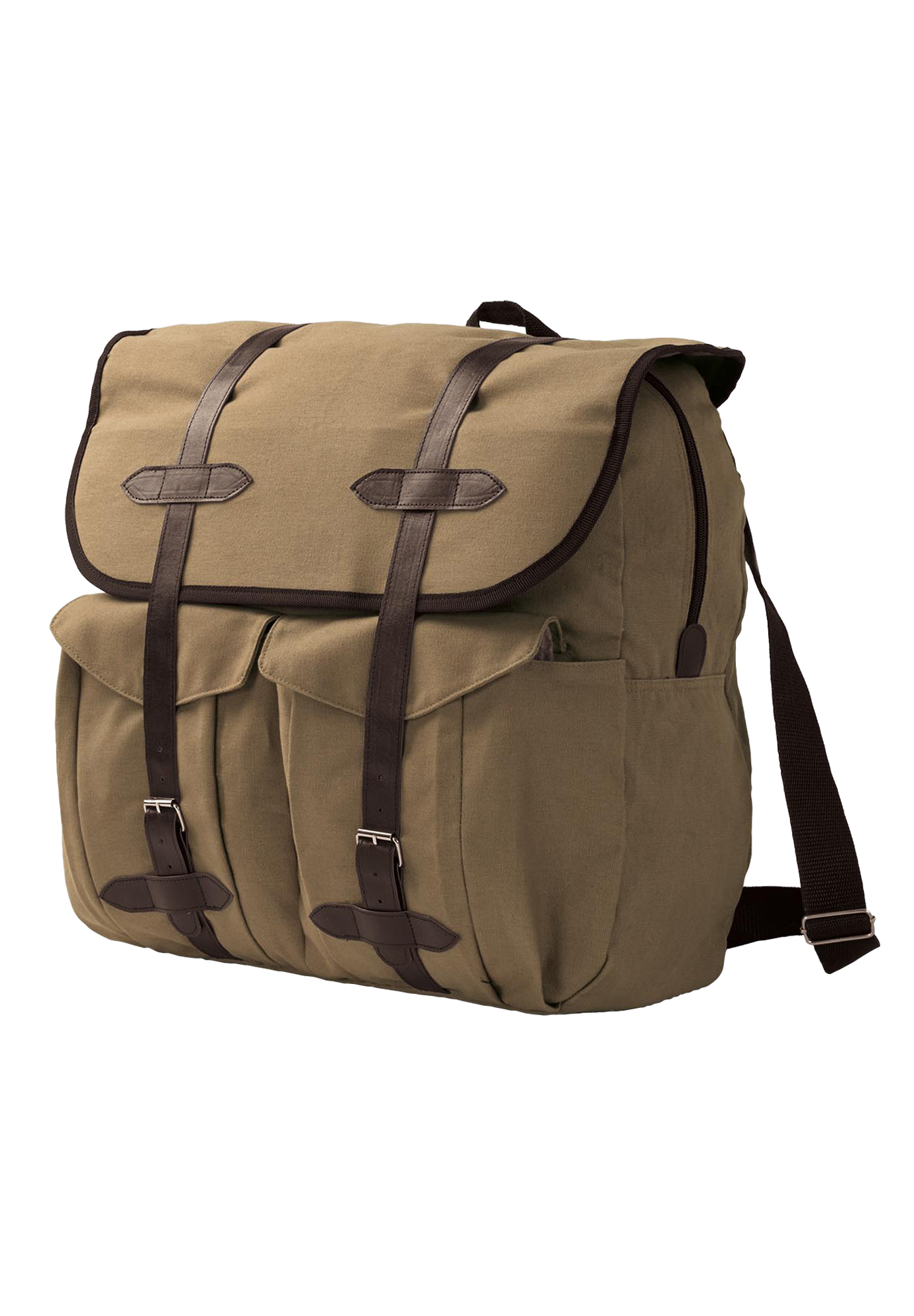 Canvas Backpack, BROWN