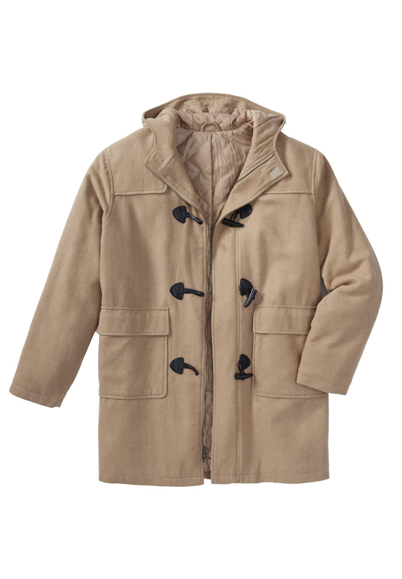 Toggle Parka Coat Plus Size Coats Amp Parkas King Size