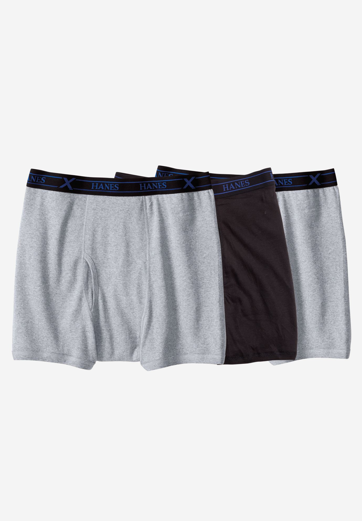 Hanes® X-Temp Boxer Briefs 3-Pack,
