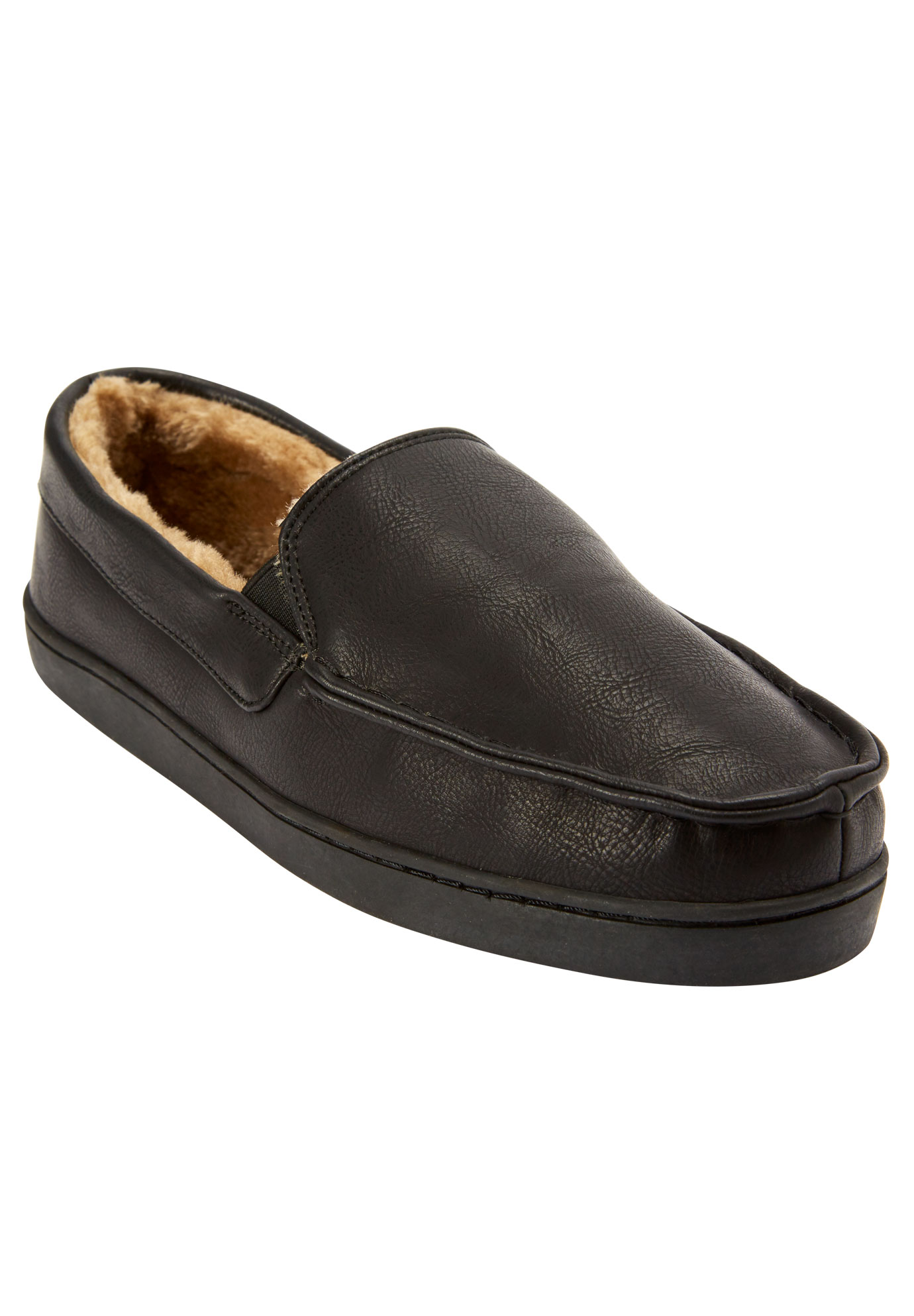 Romeo Slippers, BLACK, hi-res