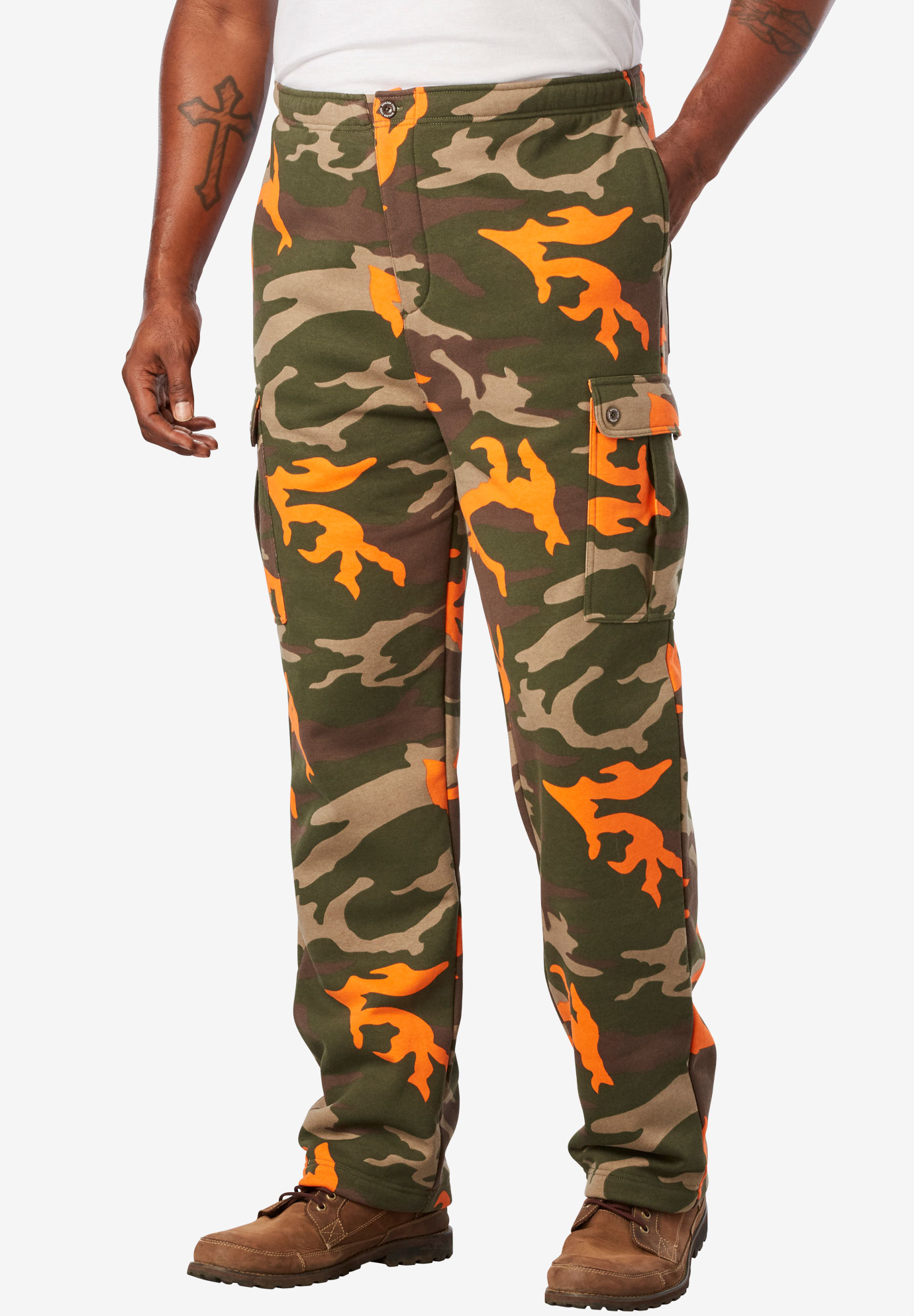 Thermal-Lined Cargo Pants by Boulder Creek®,