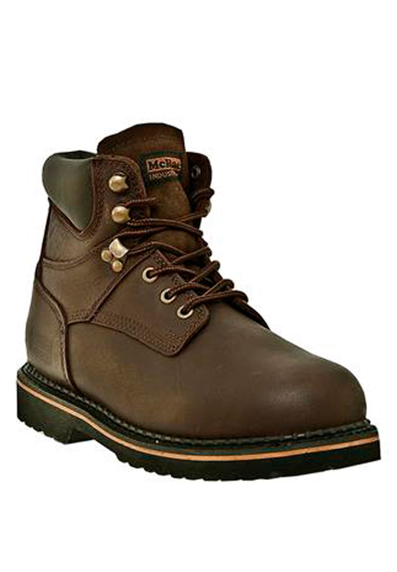 McRae 6' Steel Toe Lace Boot ,