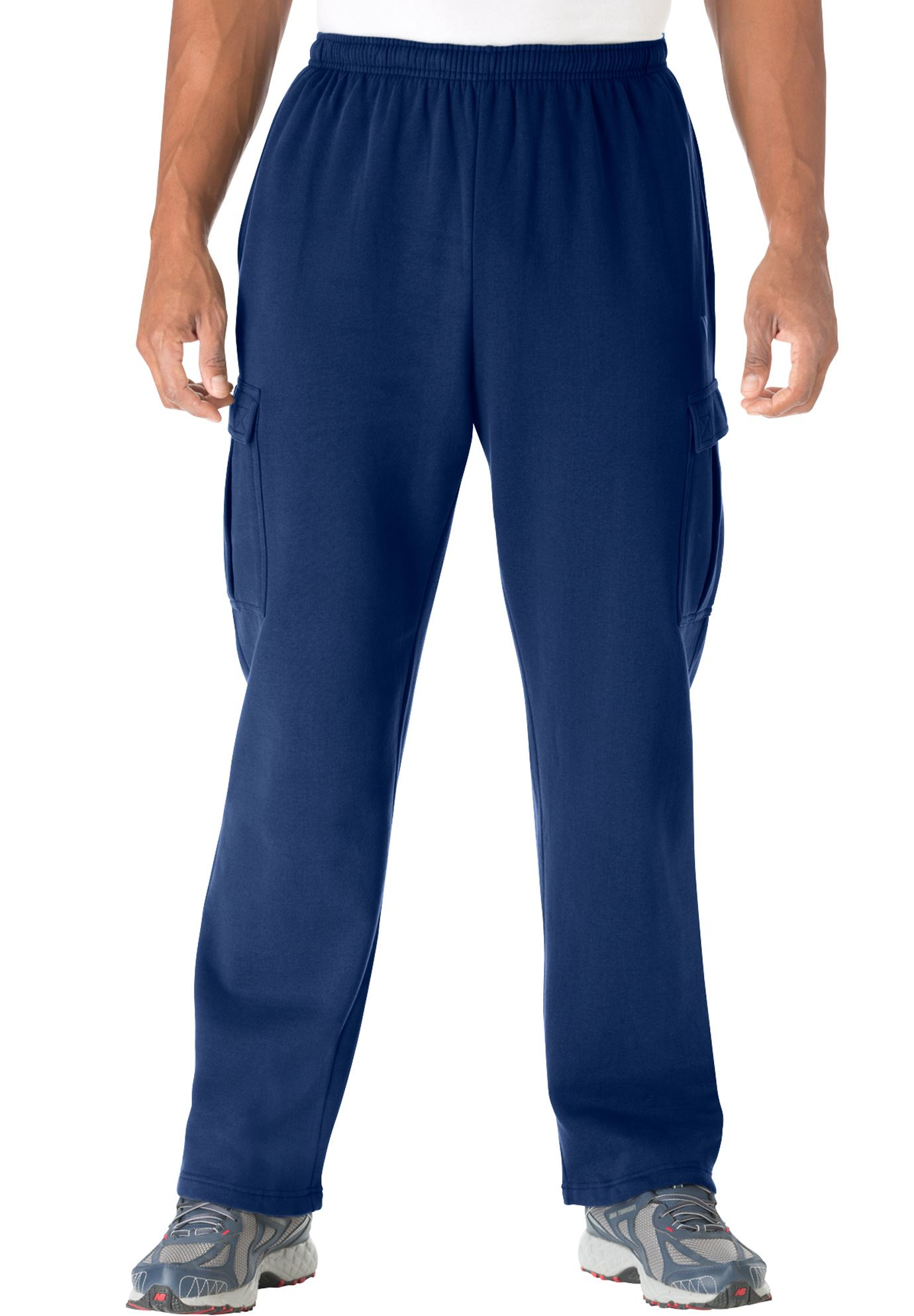 Wicking Fleece Cargo Pants by KS Sport™,