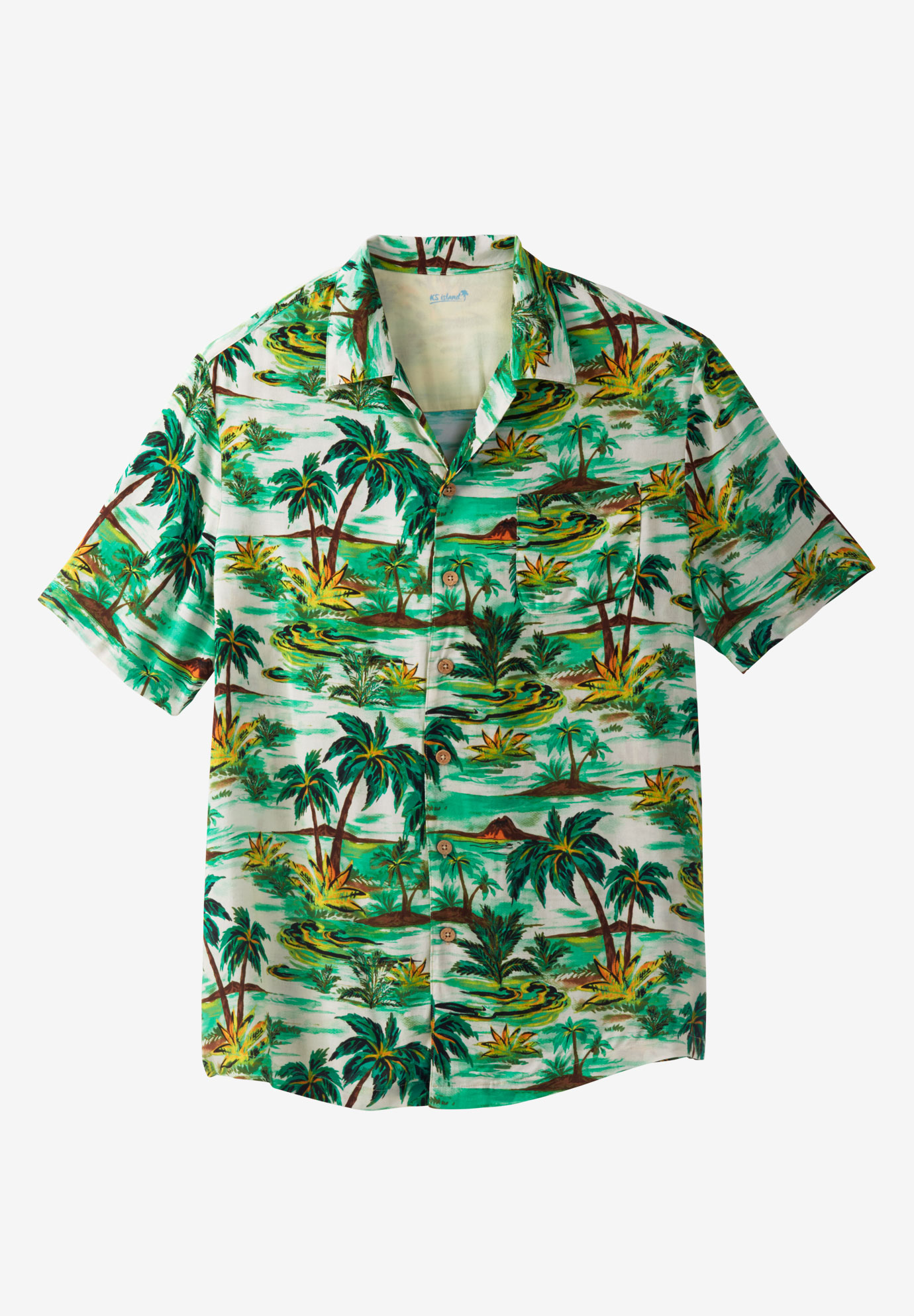 Tropical Caribbean Print Shirt by KS Island™,