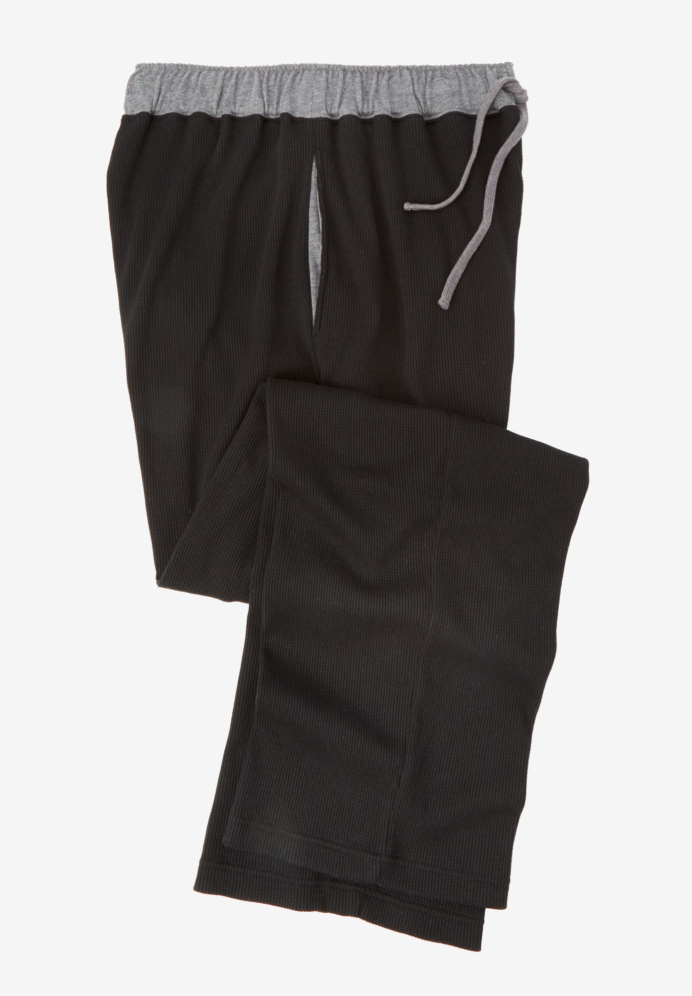 Heavyweight Thermal Waffle Pajama Pants,