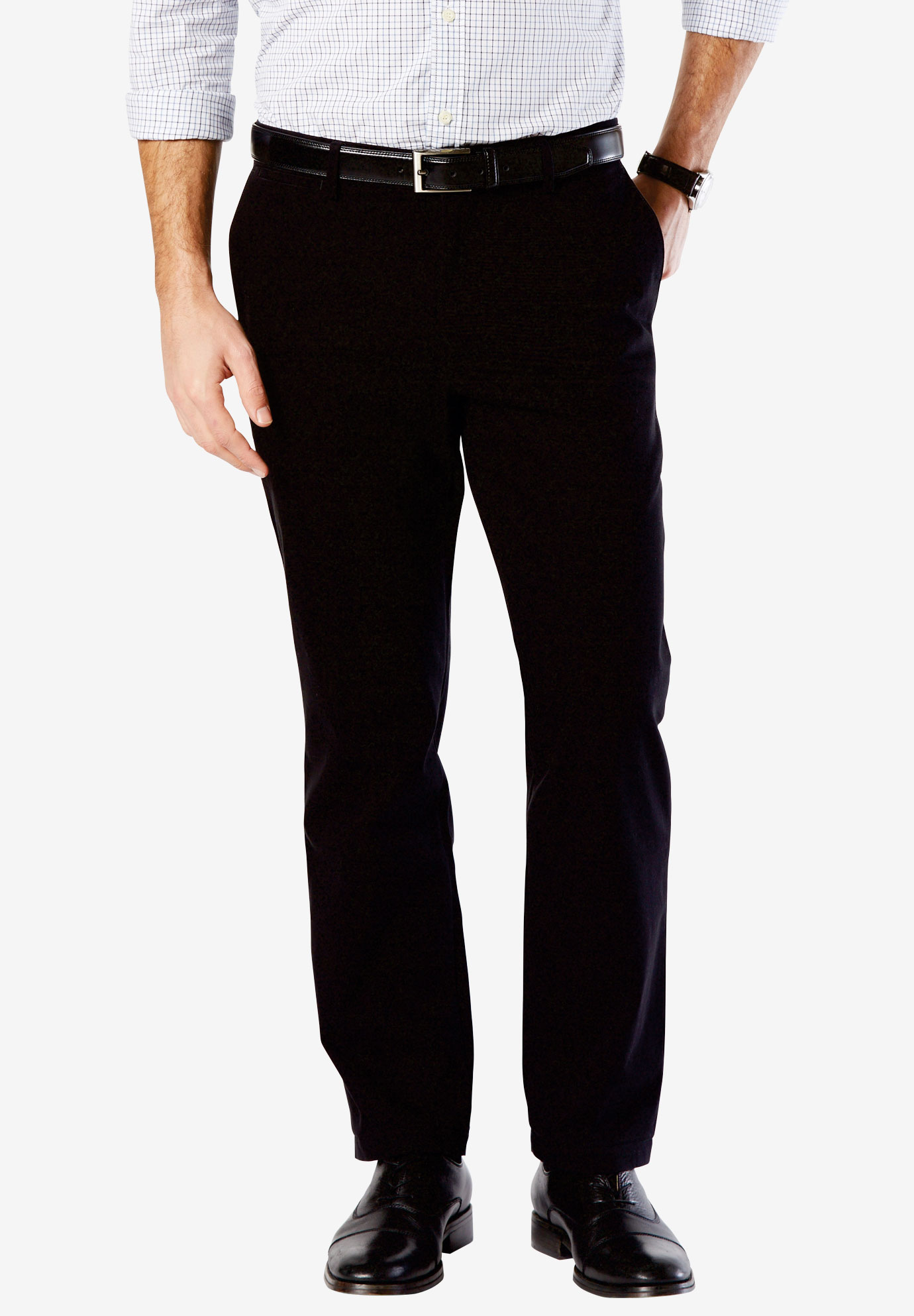 Easy-Care Flat Front Khaki Pants By Dockers®