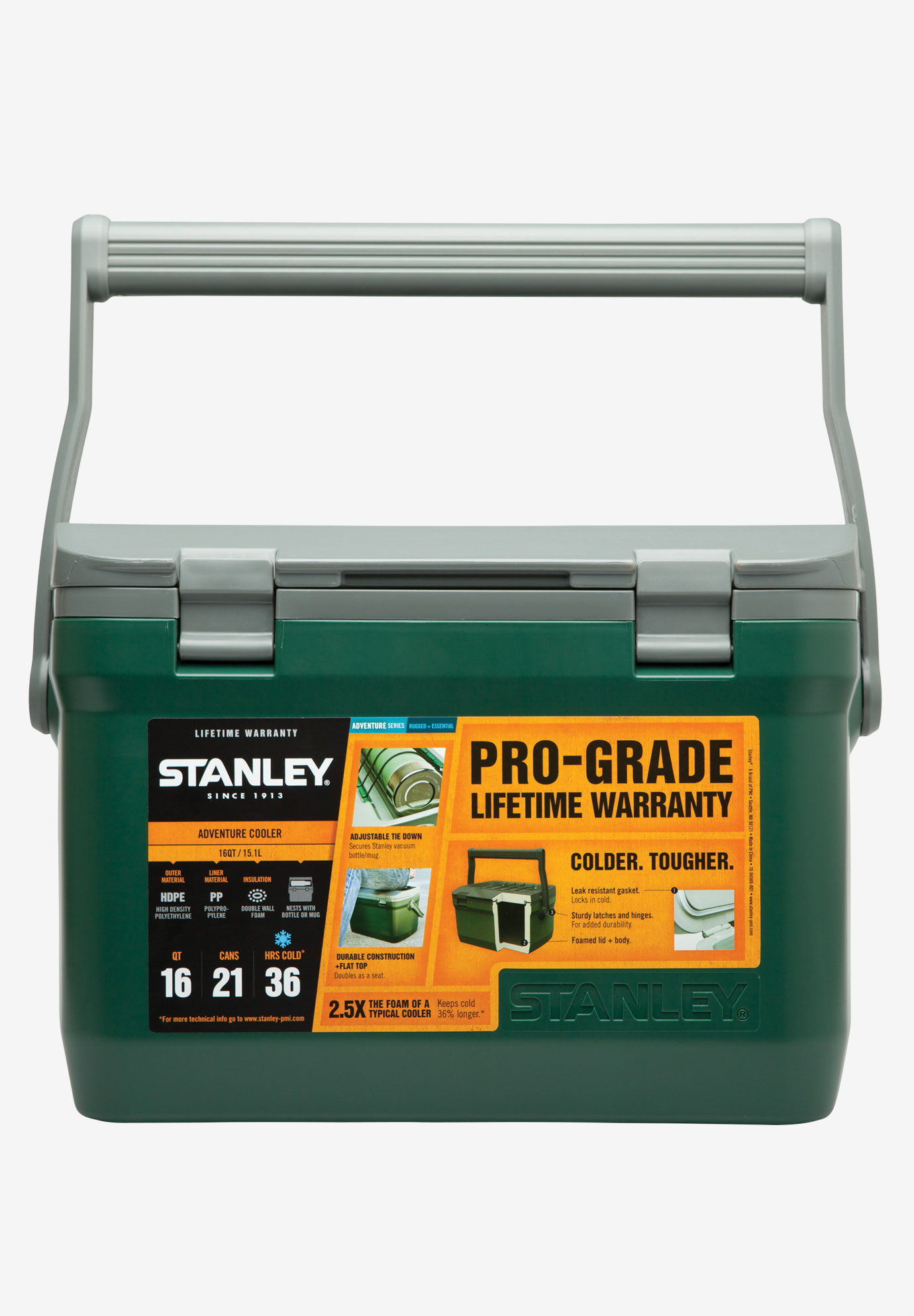 Adventure Cooler 16 QT by Stanley®, GREEN