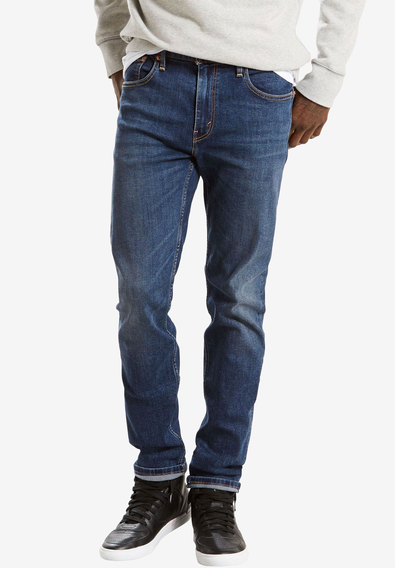 Levi's® 502™ Regular Taper Jeans , PANDA, hi-res