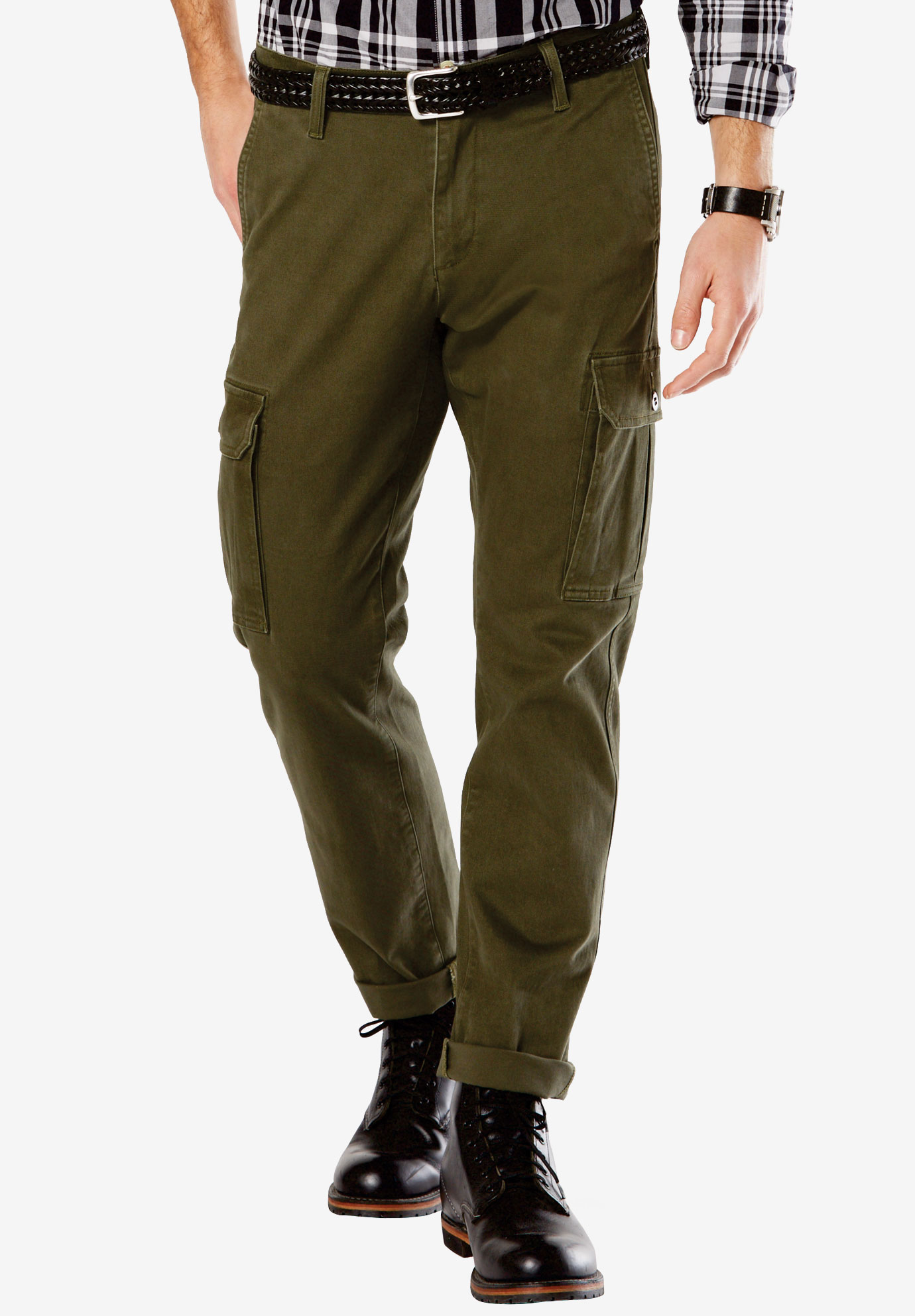 Straight Utility Cargo Pants by Dockers®,